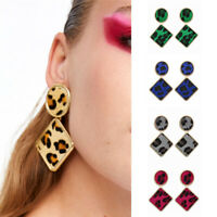 Fashion Women Leopard Geometric Earrings Bohemia Dangle Drop Charm Jewelry Gift