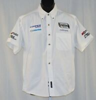 PR1 Atlantic Racing Series Mazda Cosworth Race Used Crew Shirt medium