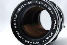 Minolta MC TELE ROKKOR-QD 135mm F3.5 Lens SN1578899