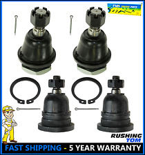 4 New Front Upper & Lower Ball joints K90663 K80591 For Nissan Frontier Xterra