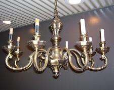 Chandelier- 8-Arm Brass - Italian ceiling light Heavy Duty - Mod Dep Stile(L311)