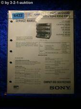 Sony Service Manual HCD D390 D790 G5500 XB33 XB44 XB50 XB60 (#6422)