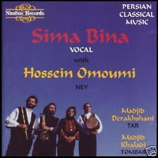 PERSIAN CLASSICAL MUSIC CD ~ SIMA BINA & HOSSEIN OMOUMI