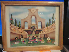 Disneyland Resort Mickey's All American Pin Quest Frame Set Never Displayed