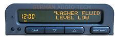 SAAB 93 SID1 SIU DASH INFORMATION CHECK CONTROL RADIO DISPLAY -PART NO. 5260195