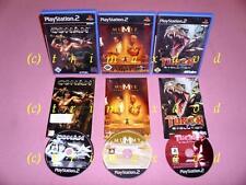 3x ps2 _ Conan & la momia regresa & Turok Evolution _ primeras ediciones