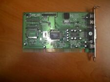 Aopen Sound Card FX-3D AD1816 with Driver Setup Program and 22 Page Manual