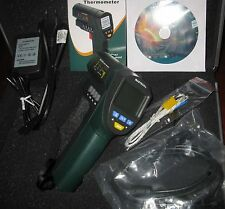 Non-Contact Laser Point Infrared IR Thermometer -32-1650C -25-3002F MS6550B USB