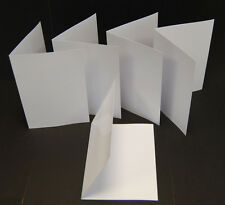 100 A5/A6 Blank Inkjet Matt/Matt Greeting Card Blanks 245gsm Heavy Weight Cards
