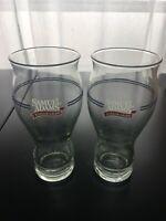 Set 2 Samuel Adams Sam Boston Lager Sensory 16oz Glasses Take Pride In Your Beer