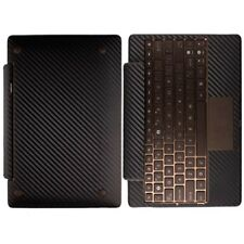Skinomi Carbon Fiber Tablet Skin for Asus EEE Transformer TF101 Keyboard Dock
