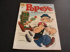 POPEYE-The Search for the Spinach Icebox Vol.1 #37-Dell-1956 10 cent Comic Book.