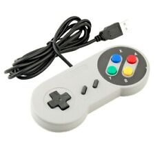Retro USB Controller Retro Super Gamepad for Nintendo SNES PC and MAC Controller