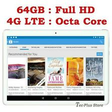 "NEW TECA T811 4G LTE 3.6GHz OCTA CORE 64GB 10.1"" Full-HD ANDROID 6.0 TABLET PC"