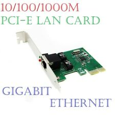 Gigabit Ethernet LAN PCI-E Express Network Card Desktop Controller 10/100/1000M