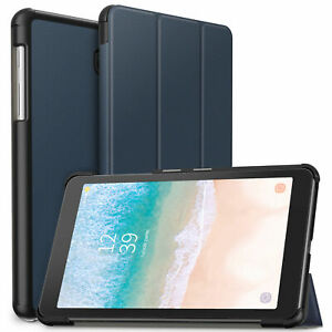 """Galaxy Tab A 8.0-Inch Case Tri Fold PU Leather For Samsung Tab A 8 8"""" Tablet"""