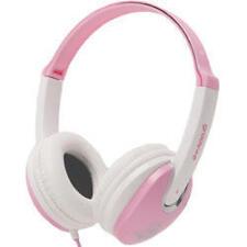Groov-e Kids DJ Style Full Ear Stereo Headphones Pink