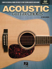Acoustic Guitar Chords Learn How to Play Music Lessons Video Book DVD Pack NEW