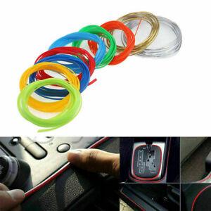 DIY 9 Color Flexible Interior Decoration Moulding Trim Decorative Strips For CAR