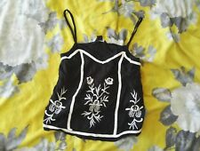 Bnwt New Look 915 Girls Floral Cami Top Age 10-11