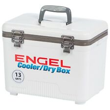 Engel 13 QT Cooler and Dry Box White - UC13