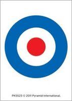MOD target logo - ACRYLIC KEYCHAIN official merchandise WHO WELLER KINKS JAM