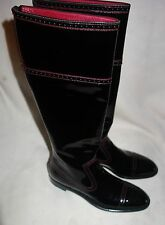 YSL Yves Saint Laurent  Knee high riding Boots size 36.5   NEW