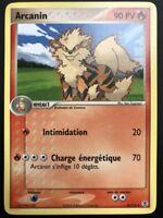 Carte Pokemon ARCANIN 18/112 Rare Rouge Feu Vert Feuille Bloc EX FR NEUF