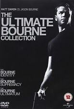 The Bourne Collection - Trilogy Searies 1-3 Complete Collection 1 2 3 New UK DVD