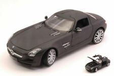 Mercedes Sls Amg (c197) Matt Black 1:24 Model 24025MBK WELLY