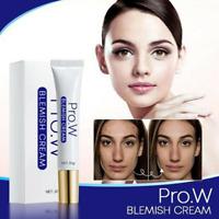 Pro.W Blemish Cream Freckles Acne Pimple Scar Dark Spots Removal Skin Whitening