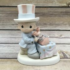 "1995 Precious Moments ""Let Freedom Ring"" Patriotic Figurine #681059"