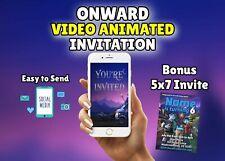 Onward Video Animated Birthday Invitation