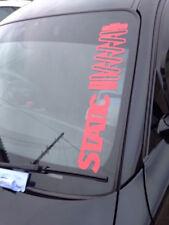 Static Windscreen Sticker Decal  Graphic Sticker jdm euro slammed euro vw