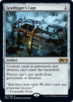 Grafdigger's Cage x4 Magic the Gathering 4x Magic 2020 mtg card lot