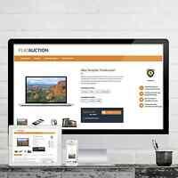FLATAUCTION Ebayvorlage 2020 RESPONSIVE Auktionsvorlage Template Vorlage Design