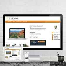 FLATAUCTION Ebayvorlage 2018 RESPONSIVE Auktionsvorlage Template Vorlage Design