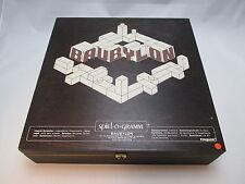 Baubylon - 3-dimensionales Bau- u. Gesellschaftsspiel aus Holz aus den 80ern