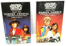 1986 Doctor Who Role Playing Game (Rpg) Paperback Book Set of 2-Fasa (G-1632)