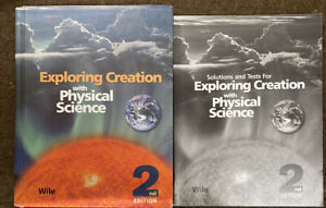Apologia Physical Science SET (2nd Edition) Textbook, Solutions W/Tests *