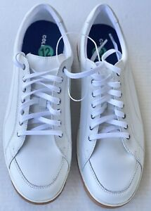 Cole Haan Casual Sneakers C32447 White Gum Sole Size 12.  Brand New
