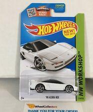 '90 Acura NSX #218 * WHITE * 2015 Hot Wheels * NC27