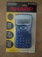 Sharp EL-531W Advanced DAL Scientific CALCULATOR for Highschool & College NEW