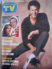 TV Sorrisi e Canzoni n°1 1987 Claudio Baglioni - Ornella Muti - Yuppies 2  [C67]