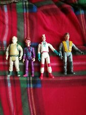 Four Ghost buster Toys 80s/90s