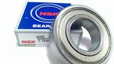 NIB NSK 6206ZZNR BEARING METAL SEALED w// SNAP RING 6206 ZZ NR 6206ZZ 30x62x16 mm
