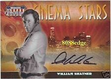 "2007 AMERICANA CINEMA STAR AUTO: WILLIAM SHATNER #20/25 AUTOGRAPH ""STAR TREK"""