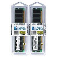 2GB KIT 2X 1GB PC2700 333 MHZ APPLE eMac G4 M9425LL/A M9834LL/A A1002 MEMORY RAM