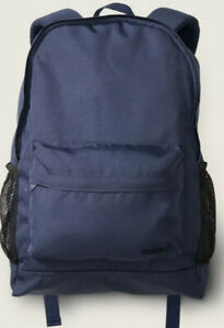 New! Victoria's Secret Classic Backpack Book Bag Tote Navy Blue