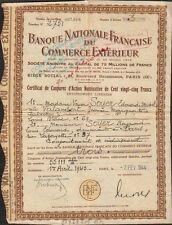 BANQUE NATIONALE FRANÇAISE DU COMMERCE EXERIEUR (O)